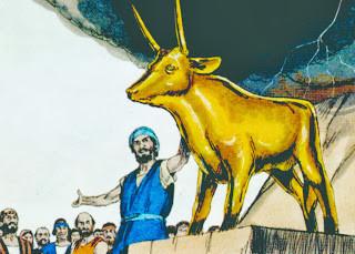 Aaron & the golden calf
