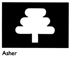 Asher tribal symbol