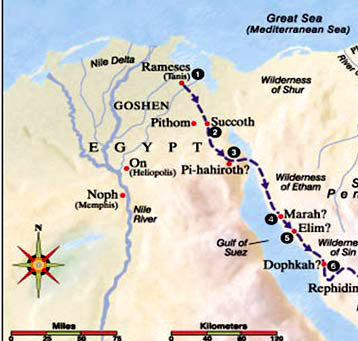 From Egypt To Mt Sinai Berean To Berean