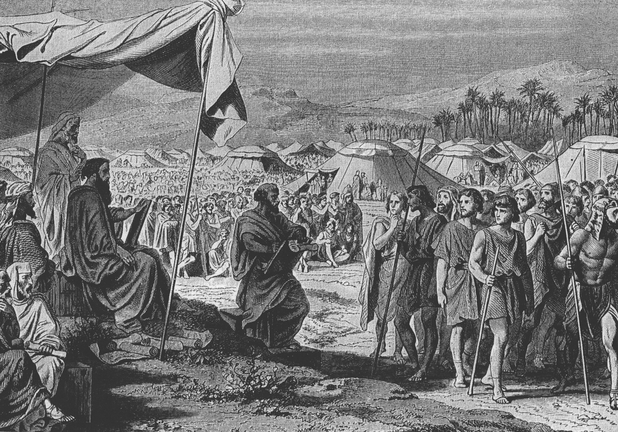 Second Census before crossing the River Jordan